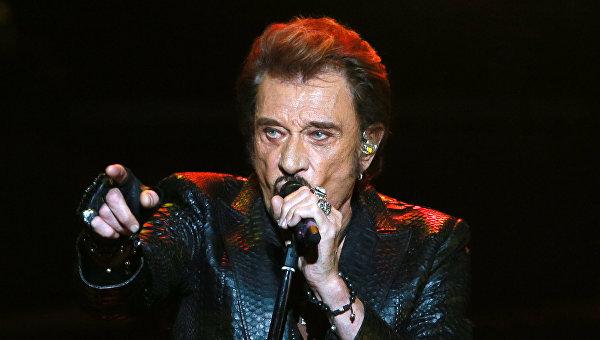 Скончалась рок-легенда Франции Джонни Холлидей