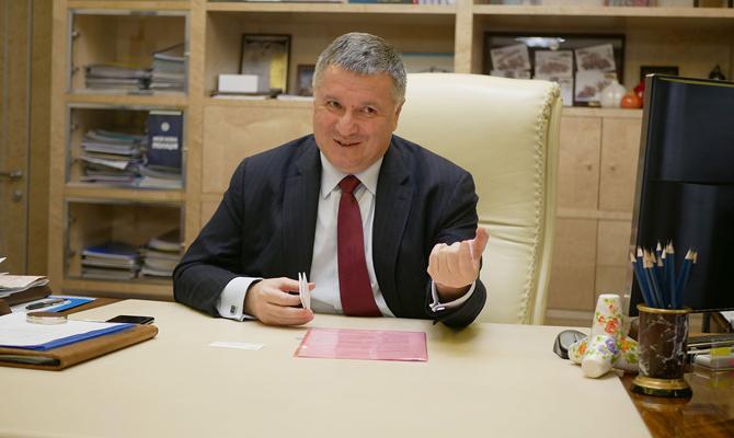 В договорных матчах замешаны 35 украинских футбольных клубов, - Аваков