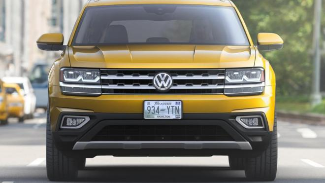 Опубликованы первые фото нового семиместного кроссовера Volkswagen