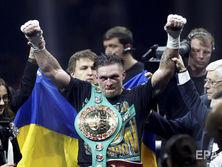 В ночь с 21-го на 22-е июля Усик стал абсолютным чемпионом мира в первом тяжелом весе