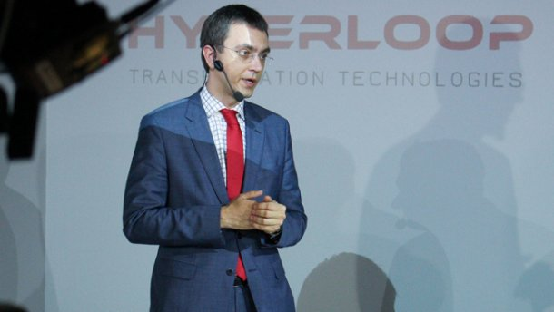 Як реалізується проект Hyperloop в Україні: коментар Омеляна