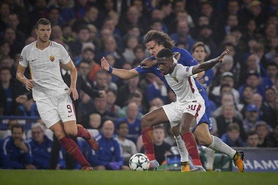 Челси - Рома: Команды разыграли результативную ничью