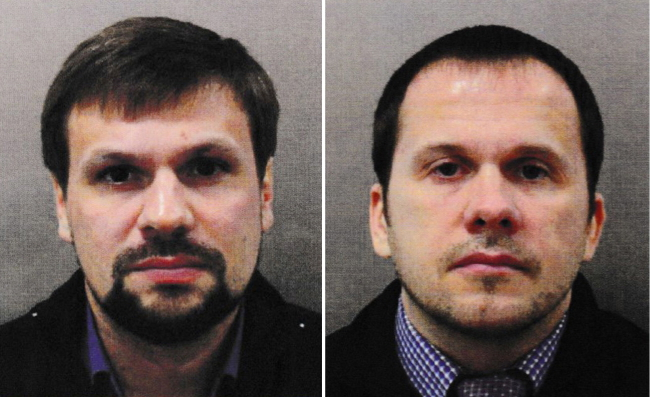 Загинули росіяни підозрювані в замаху в Солсбері