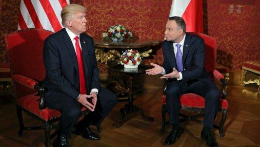 Президент Польши Дуда сделал громкое заявление по поводу присутствия американских войск в стране