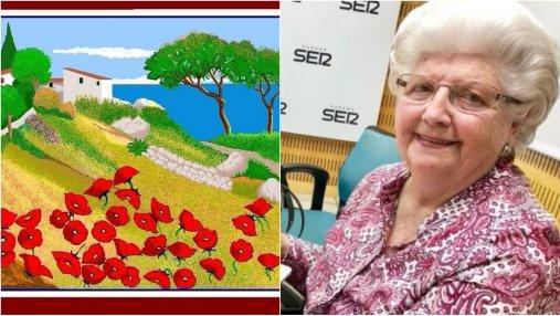 87-летняя бабушка очаровала своими рисунками в Paint: невероятные фото