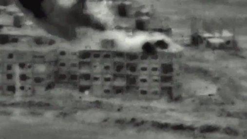 Израиль обнародовал видео авиаударов по объектам в Сирии