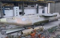 Появились фотографии недостроенного самолета Ан-225