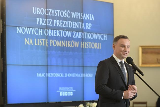 Оголошено 10 нових Пам'яток історії на 100-річчя незалежності Польщі