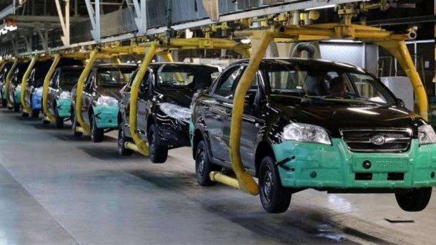 В Україні рекордно впало автовиробництво