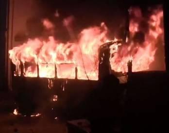В Черкасской области ликвидирован пожар в школе-интернате, эвакуированы 33 ребенка