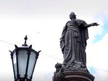 Памятник Екатерине II в Одессе восстановили в 2007 году