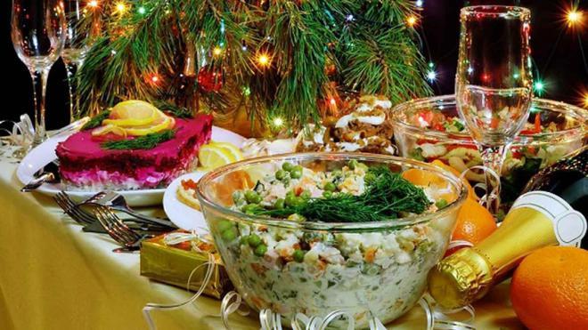 Праздничный стол на новый год фото рецепт