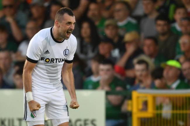 Football: Legia Warsaw beat Cork City 1-0 in Champions League qualifier