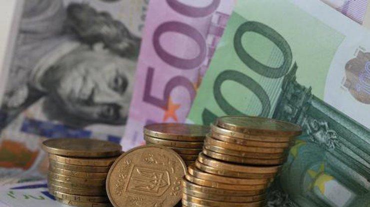 Курс евро в Украине упал