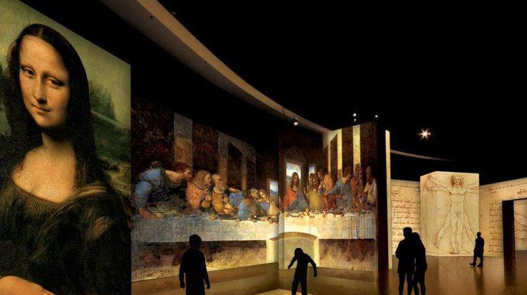 Код разгадан: в Великобритании покажут невидимые рисунки Леонардо да Винчи