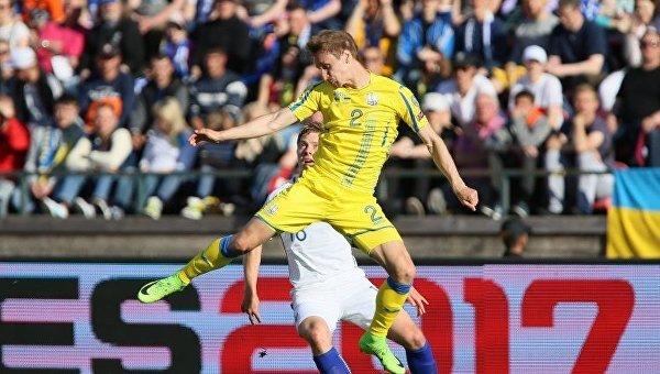 Украина рухнула в рейтинге ФИФА
