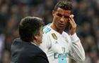 Реал показал страдания Роналду в раздевалке после полученного рассечения лица
