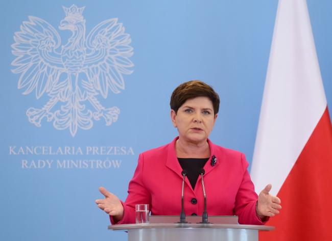 Прем'єрка Беата Шидло: Безпека поляків – це пріоритет