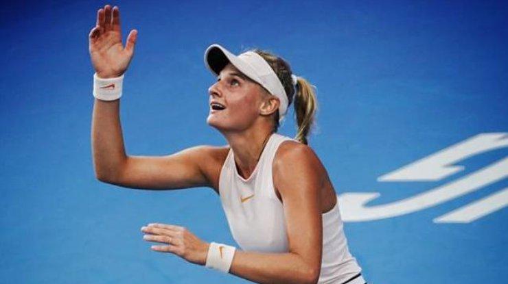 Украинка выиграла теннисный турнир
