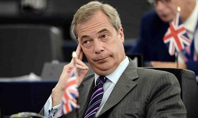 Главный «евроскептик» Найджел Фараж возвращается в британскую политику