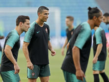 Криштиану Роналду готовится к первому матчу на чемпионате мира в России