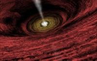 Ученым впервые удалось измерить силу магнитного поля у горизонта событий черной дыры