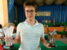 Шевченко в девять лет выполнил норму кандидата в мастера спорта