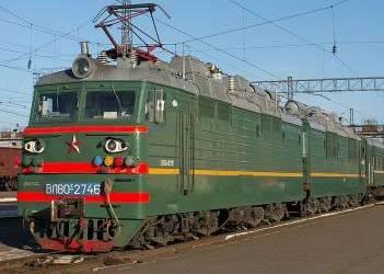 Територією України курсує лише один російський потяг