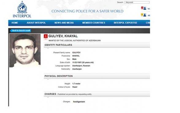 Азербайджан объявил в розыск Хаяла Гулиева фото