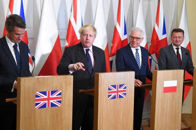 Poland, UK hail strategic ties after annual talks