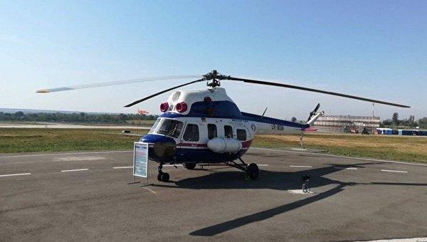 Мотор Сич представила первый украинский вертолет Надежда