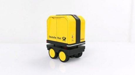 В Германии появился робот-курьер (ВИДЕО)