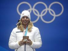 Ледецкая завоевала в Пхенчхане два золота