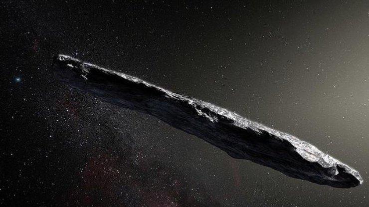Астероид из другого Солнца оказался самым длинным небесным телом