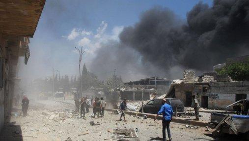 Асад нанес авиаудары на юго-западе Сирии