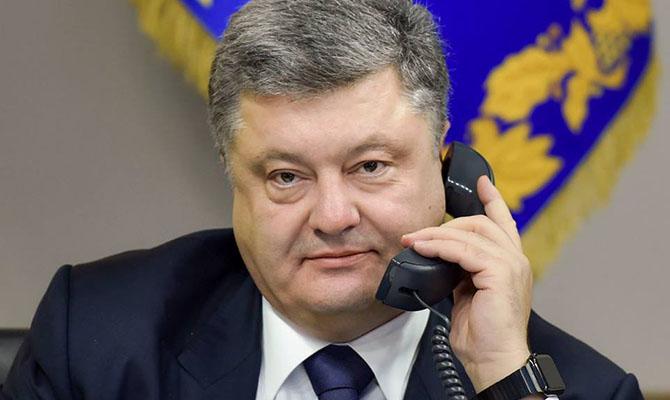 Порошенко обсудил закон об образовании с президентом Румынии