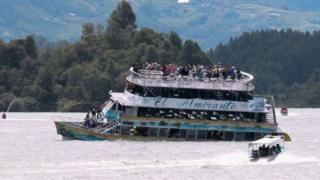 Катастрофа судна в Колумбии: 144 человека были спасены, судьба 13 человек остается неизвестной