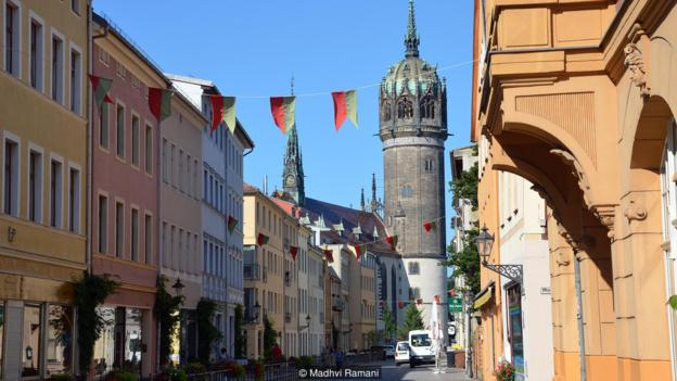 How a German town divided the world