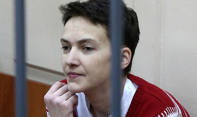 Суд не выпустил Савченко из СИЗО