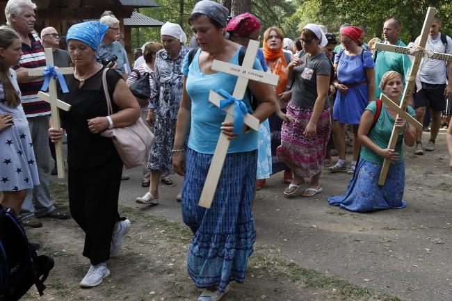 Свято Спаса відзначають також у Польщі, на Горі Грабарці