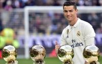 Роналду признался, что хочет иметь семь детей и семь Золотых мячей