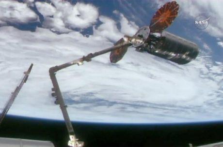 NASA: На МКС прибыл космический грузовик Cygnus