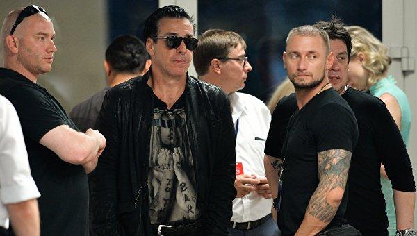 Фронтмен Rammstein сообщил о желании получить российское гражданство