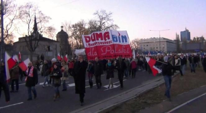 Польські неонацисти вшановують Гітлера, а в тлі... Росія?
