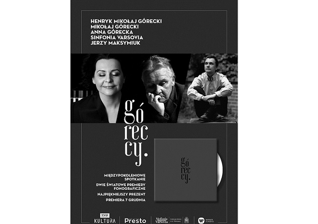 CD tribute to Polish composer Górecki