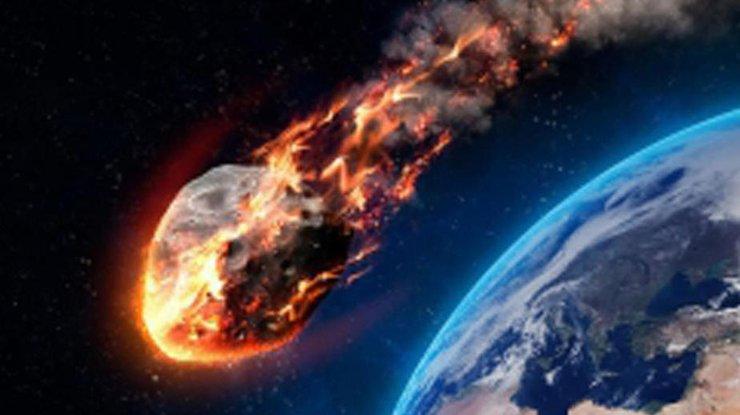 Над Африкой взорвался астероид (видео)