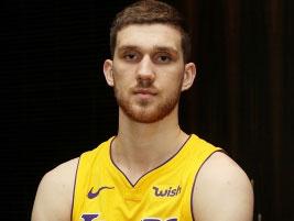 Украинец Михайлюк стал игроком команды НБА Лос-Анджелес Лейкерс
