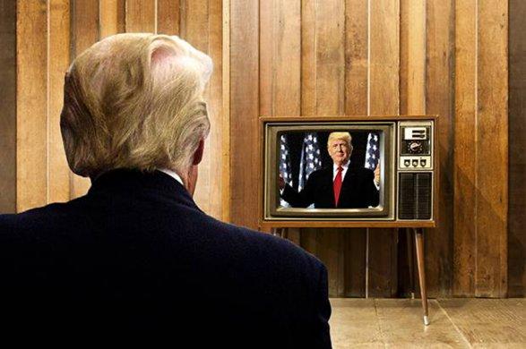 Трамп смотрит телевизор по 8 часов в сутки американские СМИ