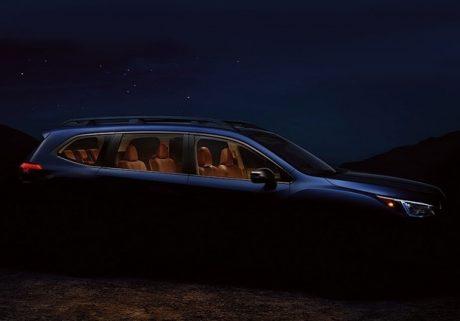 Компания Subaru показала тизер нового кроссовера Ascent