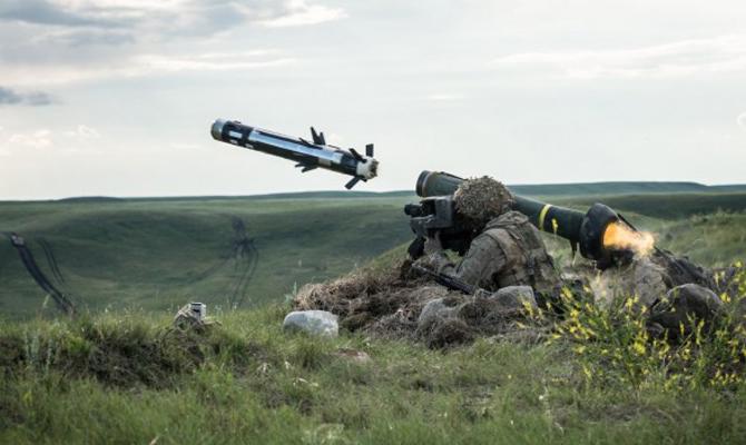 В Украине испытали ракетные комплексы Javelin